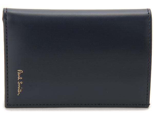 非売品 Paul Smith ポールスミス カードケース ATXC-4774-W76147 名刺入れ ネイビー メンズ 新品, ジョウヨウシ 4908c63d
