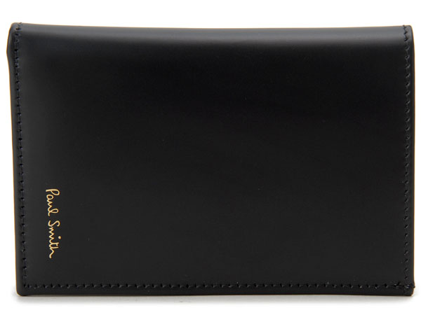 春先取りの Paul Smith ポールスミス カードケース ATXC-4774-W76179 名刺入れ ブラック メンズ 新品 【送料無料】, 広島県 db497527
