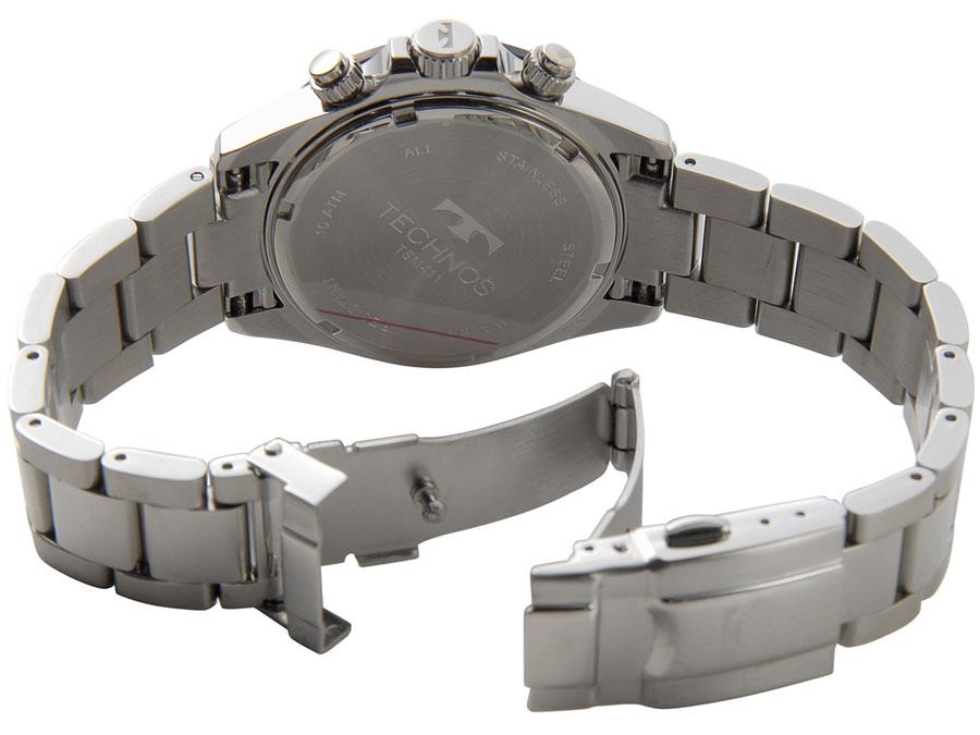 テクノス メンズ 腕時計 TECHNOS TSM411TW クロノグラフ 日本製ムーブメント ホワイト P10SP