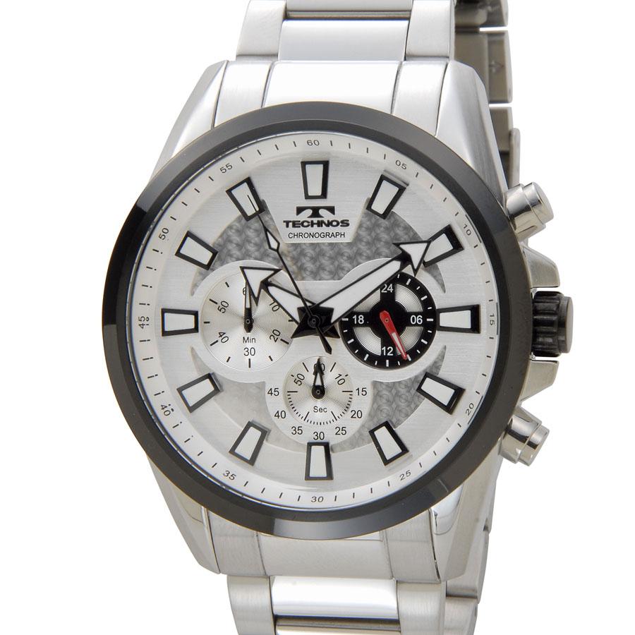 テクノス メンズ 腕時計 TECHNOS TSM616TS クロノグラフ 日本製ムーブメント ホワイトP10SP