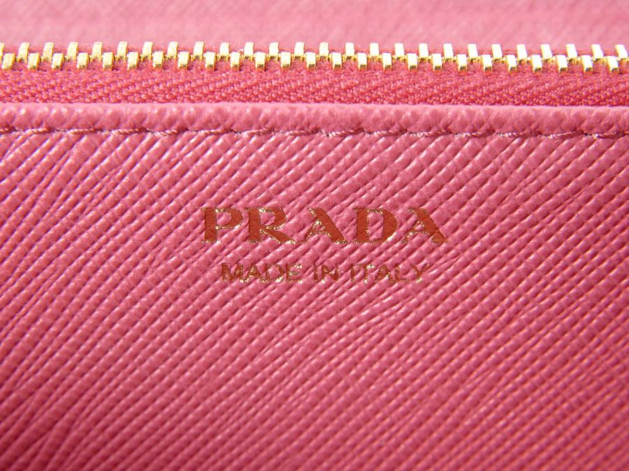 プラダ PRADA ラウンドファスナー長財布 1ML506 QHH F0505 サフィアーノ レザー PEONIA ピンク 新品