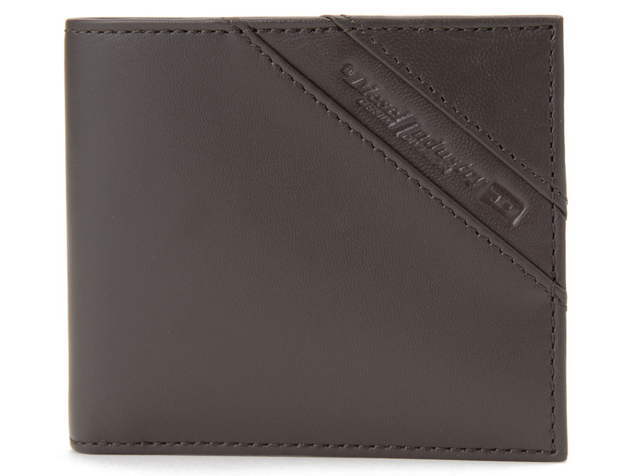 【NewYearSALE】割引セール ディーゼル 二つ折り財布 DIESEL X05081 P1507 T2184 レザー 本革 カフェ ブラウン メンズ 新品