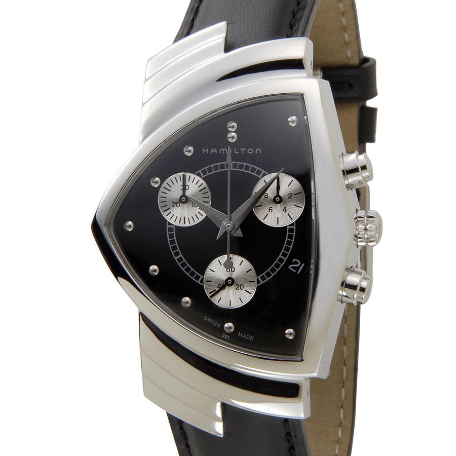 ハミルトン HAMILTON ベンチュラ H24412732 クロノグラフ メンズ 腕時計 新品 [ポイント5倍キャンペーン][8/3~8/17]