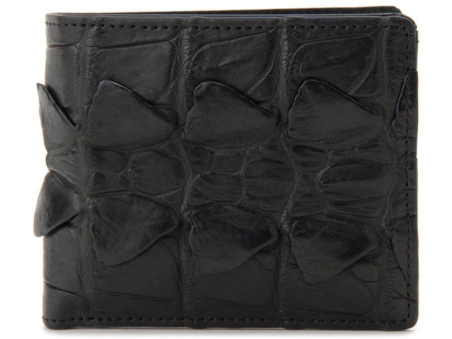 ロダニア RODANIA クロコダイル ホーンバック折財布 OKU5748 高級皮革 ワニ革 財布 レディース 201806-201901