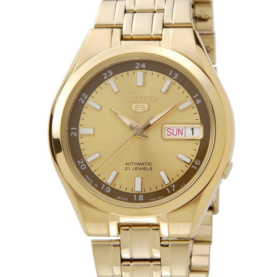 セイコー SEIKO 5 メンズ 腕時計 SNKG26J1 セイコーファイブ ゴールド P10SP