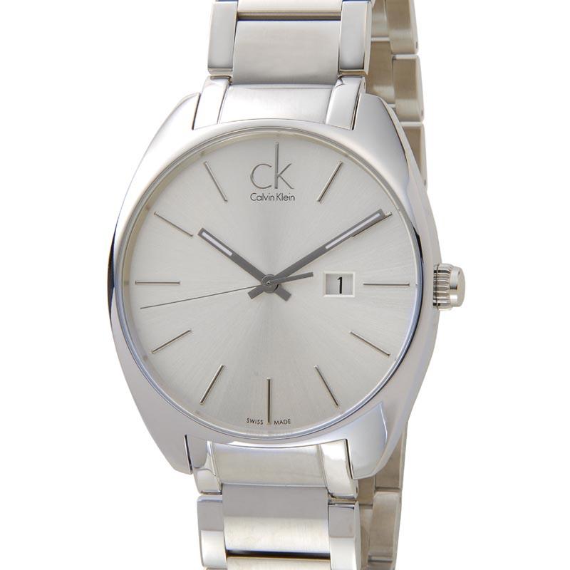 カルバンクライン Calvin Klein 時計 K2F21126 Exchange エクスチェンジ シルバー メンズ 腕時計 新品