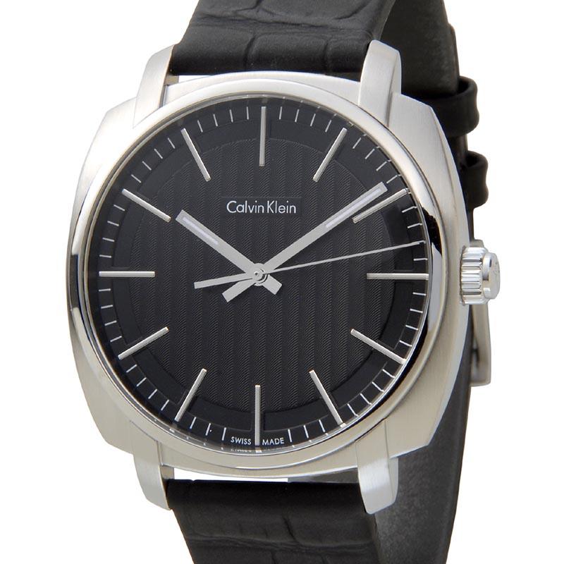 カルバンクライン Calvin Klein 時計 K5M311C1 highline ハイライン ブラック メンズ 腕時計 スイス製 P10SP