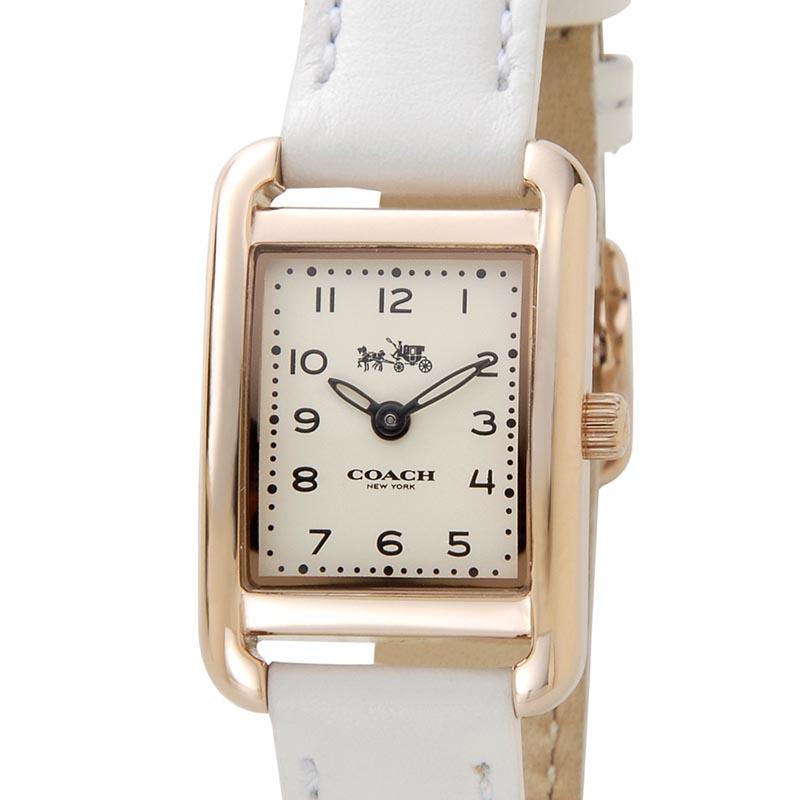 コーチ COACH 時計 14502298 THOMPSON トンプソン スクエア ホワイト レディース 腕時計 P5SP