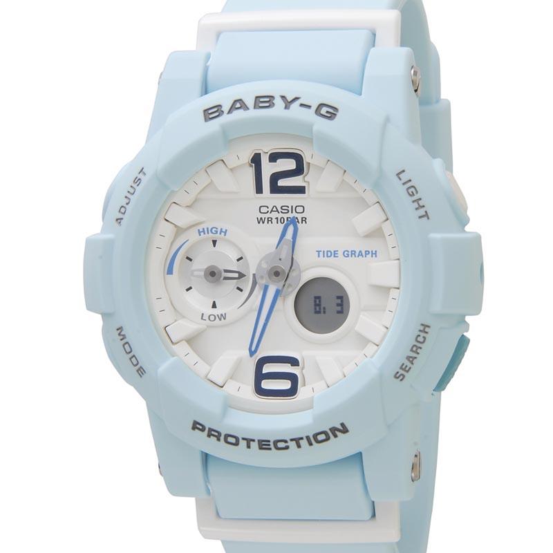 カシオ CASIO Baby-G BGA-180BE-2BDR ベビーG 海外モデル ブルー レディース 腕時計 P10SP