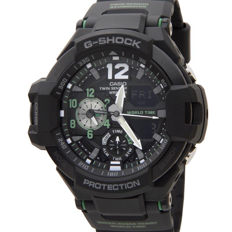 カシオ CASIO G-SHOCK Gショック GA-1100-1A3DR GRAVITYMASTER グラビティマスター メンズ レディース 腕時計 新品 [ポイント5倍キャンペーン][8/3~8/17]