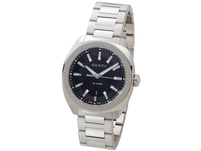 グッチ GUCCI 時計 YA142301 GG2570 ブラック メンズ 腕時計 新品