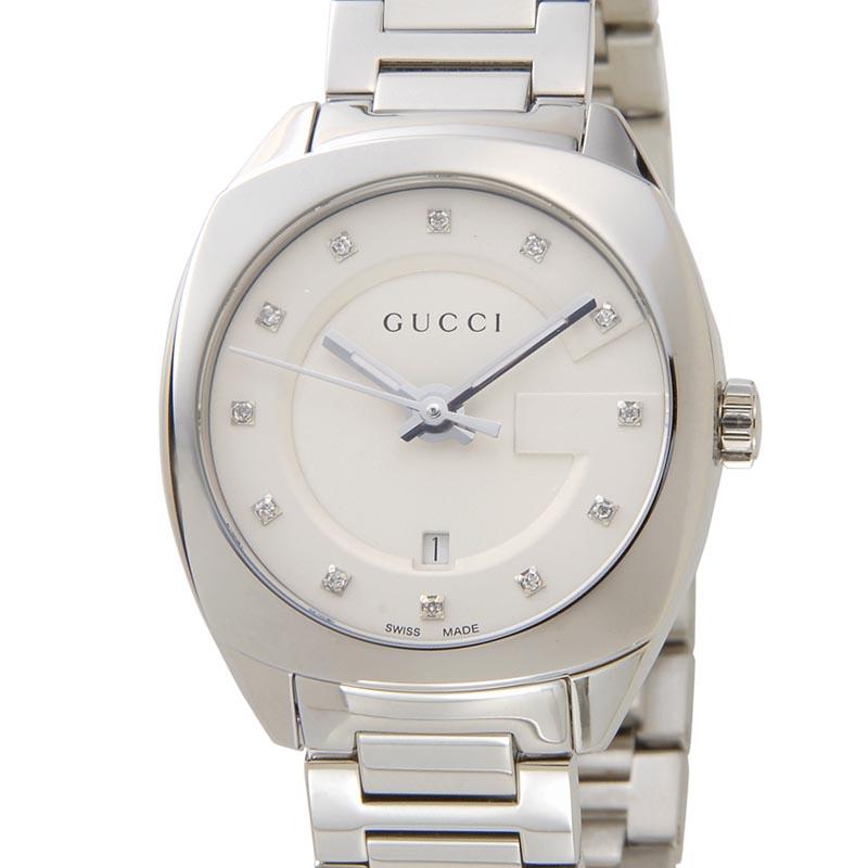 グッチ GUCCI 時計 YA142504 GG2570 ダイヤインデックス ブラック レディース 腕時計 新品