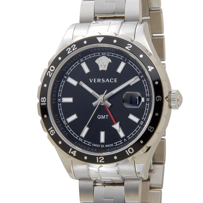 ヴェルサーチ VERSACE 時計 V11100017 Hellenyium ヘレニウム ブラック メンズ 腕時計 新品