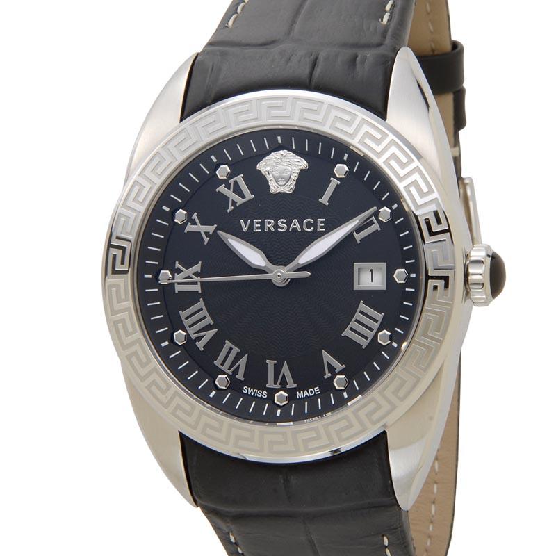 ヴェルサーチ VERSACE 時計 VFE120015 V SPORT II スポーツ ブラック メンズ 腕時計 P10SP