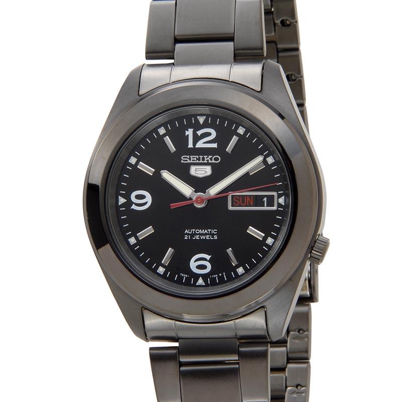 セイコー SEIKO セイコーファイブ SEIKO5 SNKM79K1 Automatic 自動巻き ブラック メンズ 腕時計 P10SP