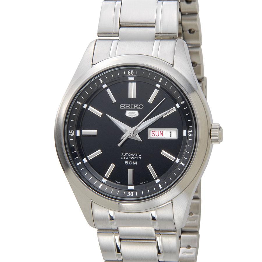 セイコー SEIKO SNKN89K1 SEIKO5 セイコー5 ファイブ ブラック メンズ 腕時計 新品 【送料無料】 [ポイント5倍キャンペーン][8/3~8/17]
