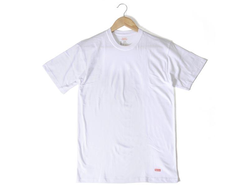 supreme white t shirt pack