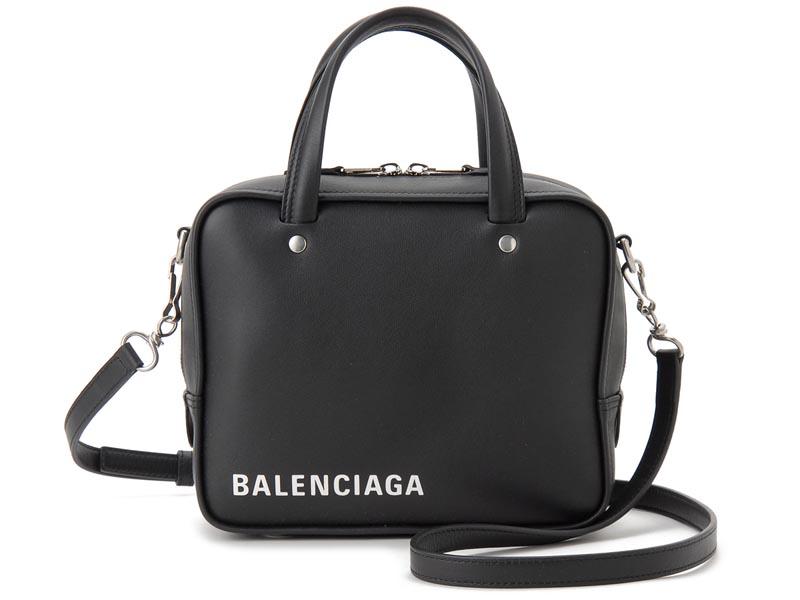 バレンシアガ BALENCIAGA ハンドバッグ 528544 C8K02 1000 TRIANGLE トライアングル ショルダーバッグ ブラック 新品