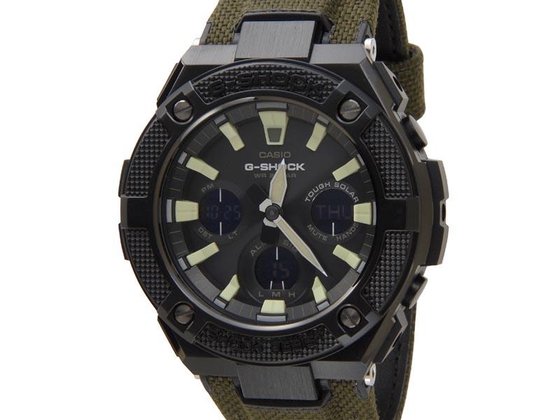 カシオ Gショック CASIO G-SHOCK メンズ 腕時計 GST-S130BC-1A3 DR G-STEEL Gスチール グリーン 新品