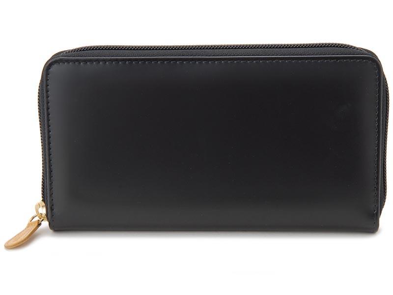 エッティンガー ETTINGER ラウンドファスナー長財布 BH2051JR ブライドルレザー ブラック メンズ 財布