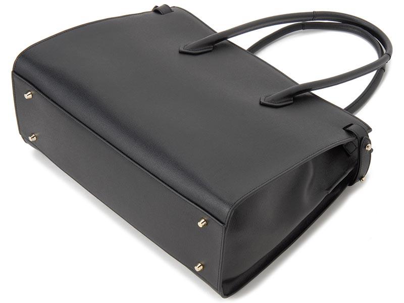 cc182ac10ebd ブランド:FURLA/フルラ□カテゴリ:トートバッグ、レディース□カラー:ONYX オニキス ブラック □素材:レザー□サイズ:高さ25.5cm×横幅36cm×奥行き15.5cm