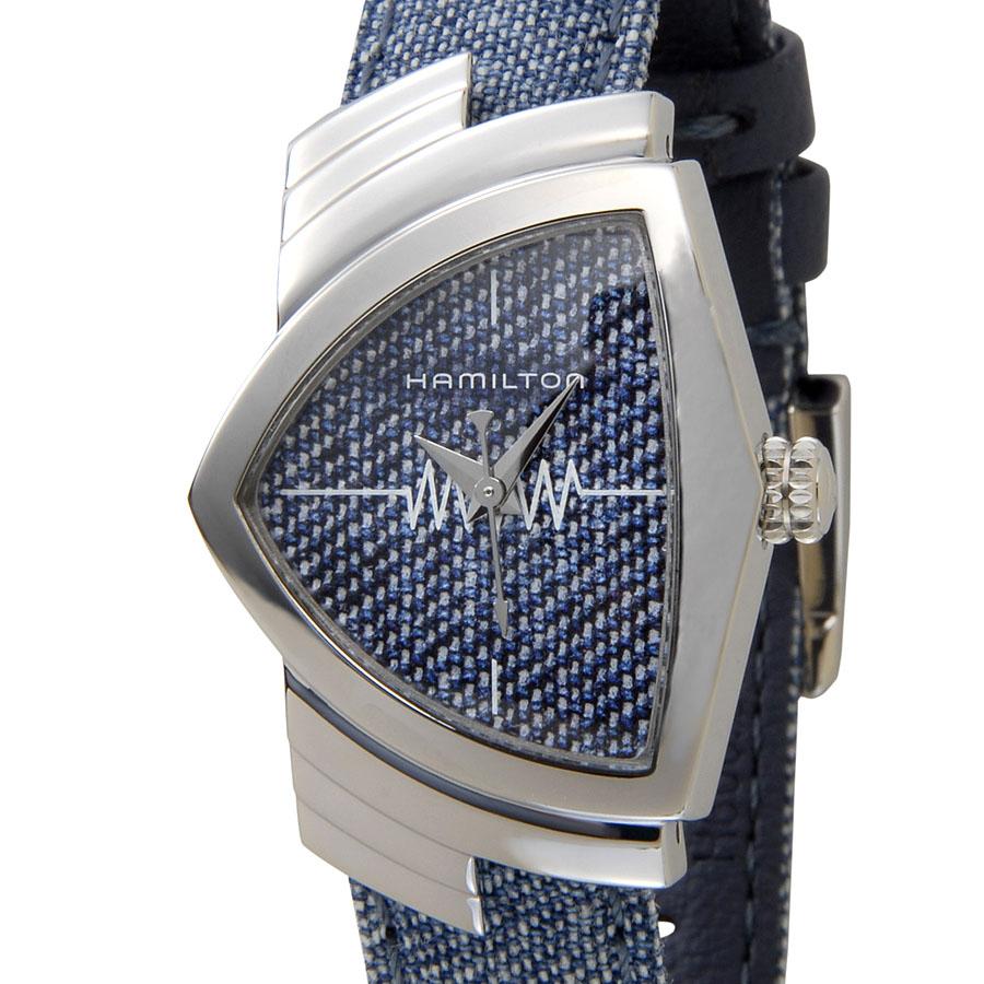 ハミルトン HAMILTON ベンチュラ H24211941 Ventura デニム レディース 腕時計