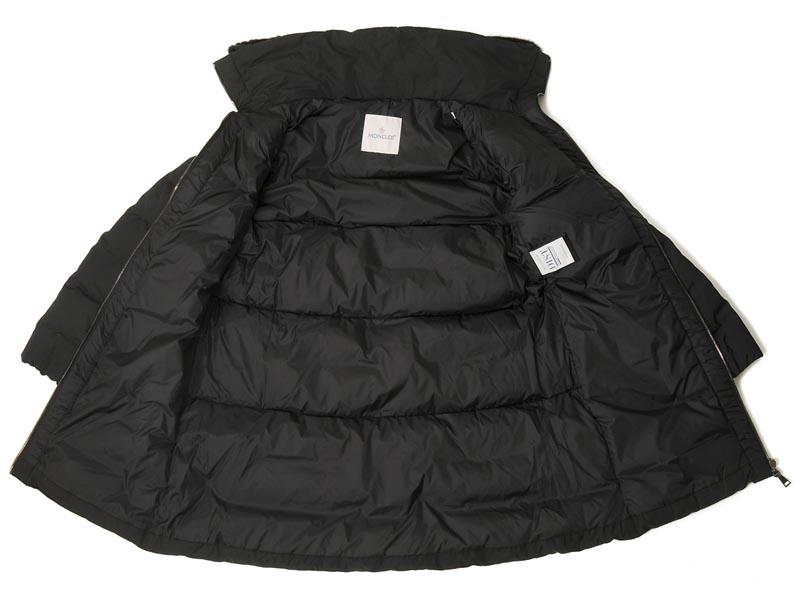 モンクレール MONCLER ダウンジャケット レディース LINOTTE 49363 20 54543 999 ダウンコート ブラック 新品