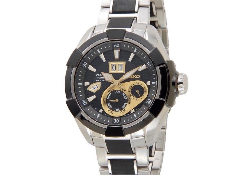 セイコー SEIKO ベラチュラ キネティック SNP119P1 Velatura Kinetic パーペチュアル メンズ 腕時計