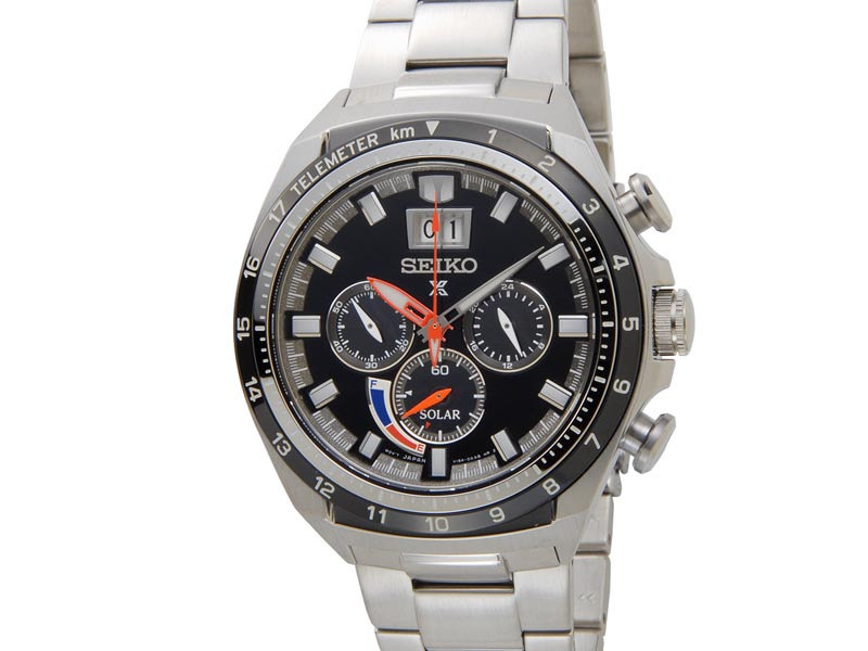 セイコー プロスペックス SEIKO PROSPEX メンズ 腕時計 SSC603P1 ソーラー クロノグラフ ウオッチ ブラック 新品 【送料無料】