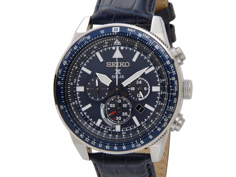 セイコー プロスペックス SEIKO PROSPEX メンズ 腕時計 SSC609P1 ソーラー クロノグラフ ウオッチ ネイビー 新品 [ポイント5倍キャンペーン][8/3~8/17]