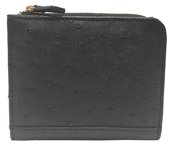 ロダニア RODANIA OKN2238 オーストリッチ コンパクト財布 【送料無料】