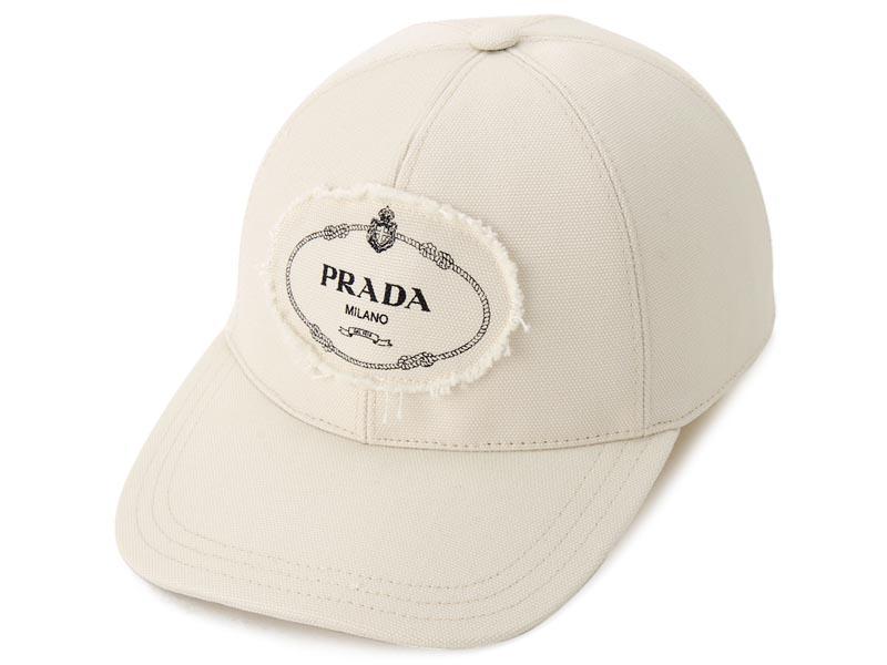 プラダ PRADA 帽子 キャップ 2HC274 010 F0034 Mサイズ GRAZZO ロゴキャップ メンズ/レディース 新品