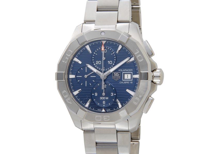best website 24f26 2660d タグホイヤー TAG HEUER CAY2112.BA0927 AQUARACER aqua racer chronograph 300m  waterproofing watch men new article
