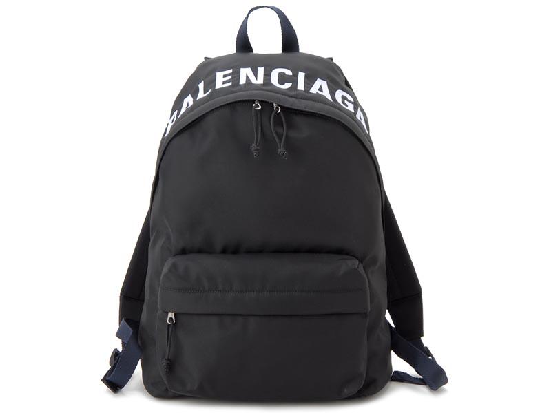 バレンシアガ BALENCIAGA リュック 525162 9F91X 1090 WHEEL ホイール バックパック ブラック メンズ レディース 新品