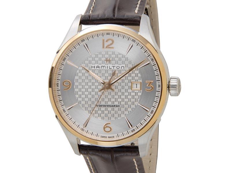 ハミルトン HAMILTON 腕時計 メンズ H42725551 Jazzmaster ジャズマスター ビューマチック 時計 男性 新品