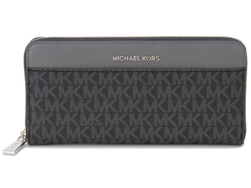 マイケルコース MICHAEL KORS ラウンドファスナー長財布 MKS32F8SF6E3B 987 ブラック レディース 財布 新品