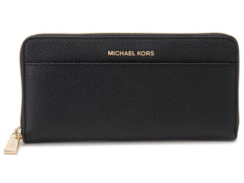 マイケルコース MICHAEL KORS ラウンドファスナー長財布 32S7GM9E9L 001 ブラック レディース 財布 新品