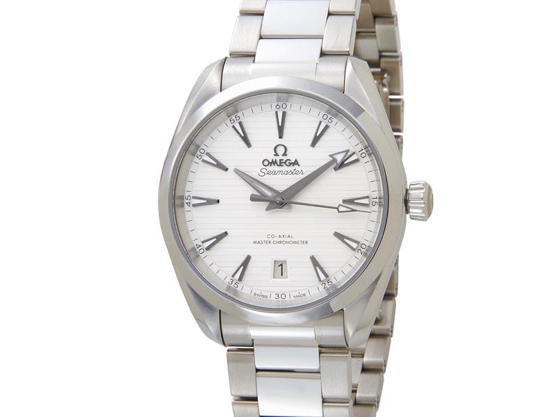 オメガ OMEGA シーマスター アクアテラ コーアクシャル マスター クロノメーター 220.10.38.20.02.001 メンズ 腕時計 新品