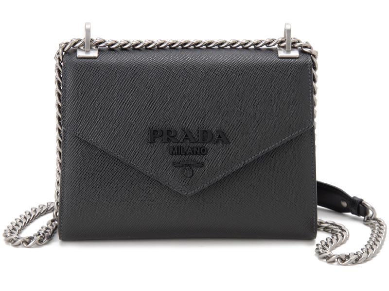 プラダ PRADA ショルダーバッグ 1BD1272ERX F0632 OOO Monochrome モノクローム ブラック レディース バッグ 新品