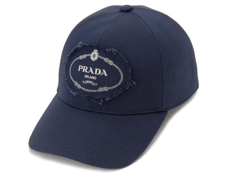 プラダ PRADA キャップ【送料無料】 プラダ PRADA キャップ 2HC274 010 F0216 ベースボールキャップ 帽子 ネイビー メンズ レディース 新品 【送料無料】