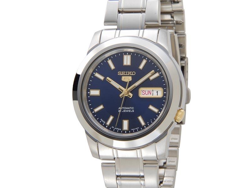 セイコー ファイブ SEIKO 5 腕時計 メンズ 腕時計 SNKK11J1 日本製 自動巻 ブルー 腕時計 新品
