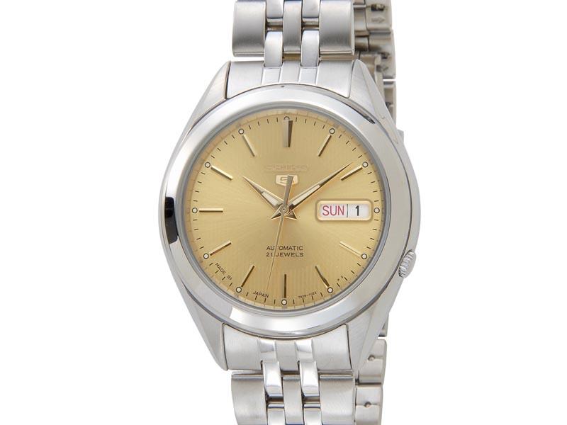 セイコー ファイブ SEIKO 5 腕時計 メンズ 腕時計 SNKL21J1 日本製 自動巻 ゴールド 腕時計 新品