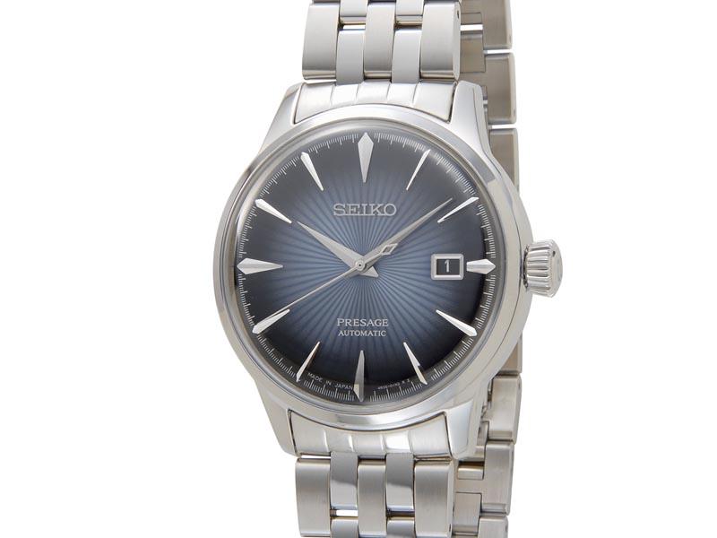 セイコー SEIKO メンズ 腕時計 SRPB41J1 PRESAGE プレザージュ 自動巻き ネイビー 新品