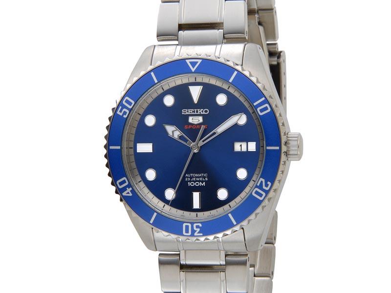 セイコー SEIKO SRPB89K1 SEIKO5 セイコー5 ファイブ スポーツ 自動巻き ブルー メンズ 腕時計 新品 [ポイント5倍キャンペーン][8/3~8/17]