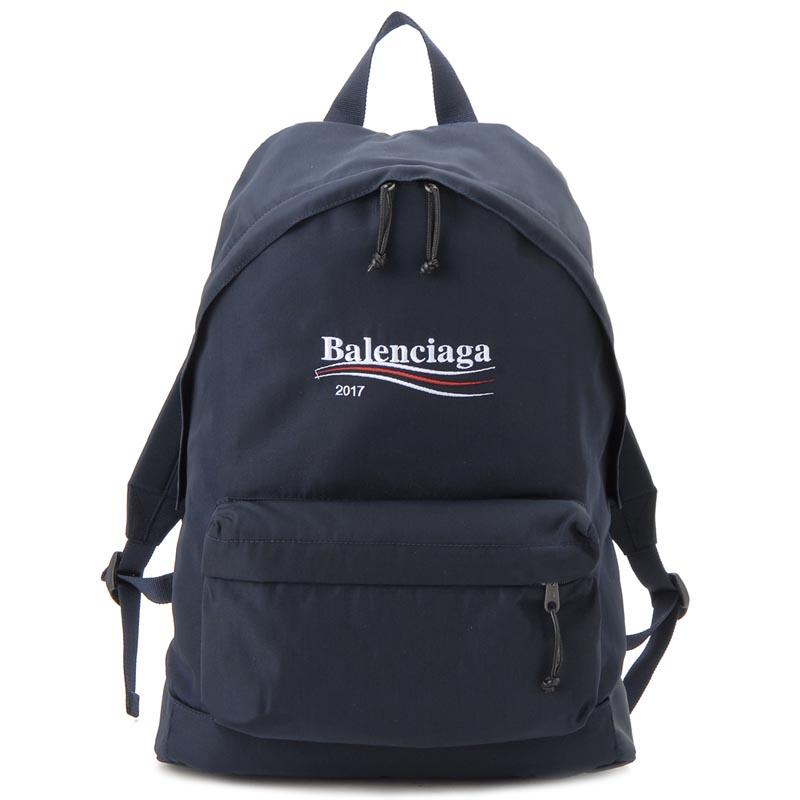 バレンシアガ BALENCIAGA リュック 459744-9D0E5-4100 XPLORER エクスプローラー バックパック ネイビー 新品 【送料無料】