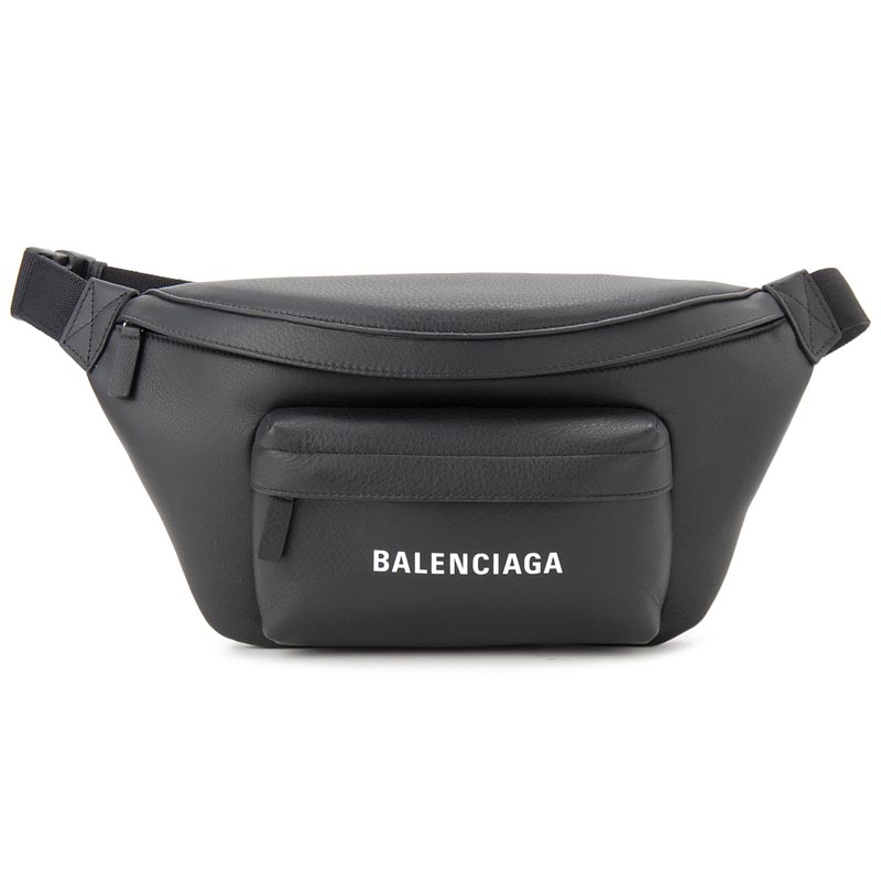 バレンシアガ BALENCIAGA ボディバッグ 552375-DLQ4N-1000 エブリデイ ウエストバッグ ブラック 新品
