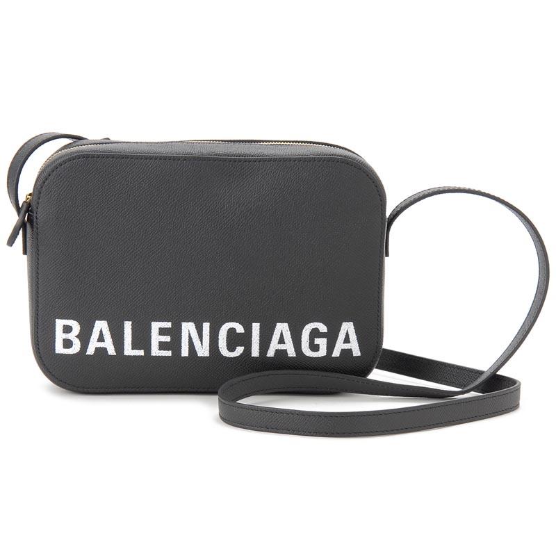 バレンシアガ BALENCIAGA ショルダーバッグ558172-0OTDM-1000 ヴィル カメラバッグ ブラック 新品 【送料無料】