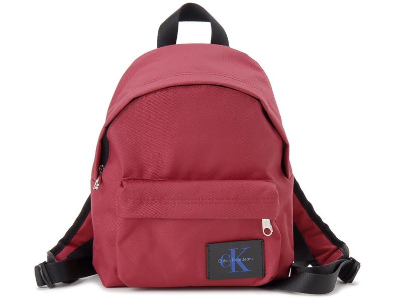 カルバンクライン Calvin Klein リュック 36201592 601 ナイロン バックパック レッド レディースまたはキッズ 新品