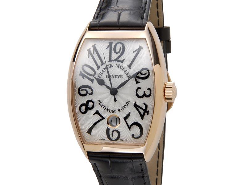 フランクミュラー FRANCK MULLER トノーカーベックス レリーフ 7851SCDT5N クロコダイル メンズ 腕時計 新品