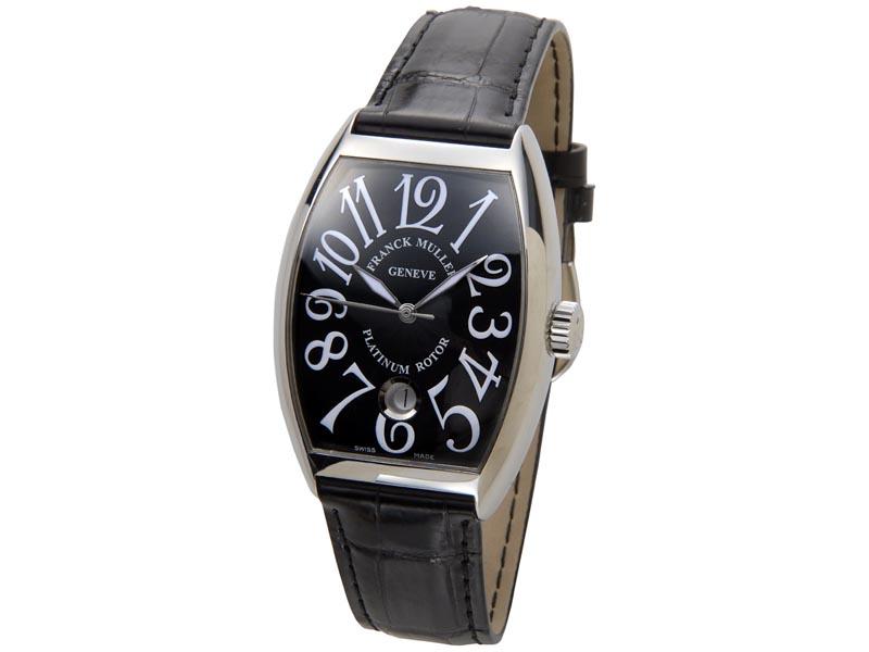 フランクミュラー FRANCK MULLER トノーカーベックス レリーフ 7851SCDT クロコダイル メンズ 腕時計 新品